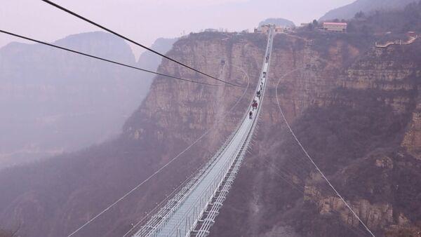Самый длинный стеклянный мост - Sputnik Latvija