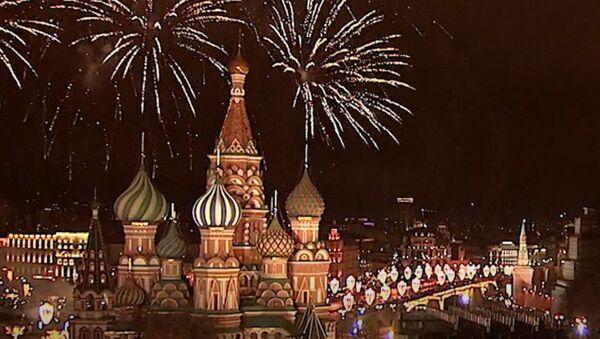 Как встретили Новый год в разных городах мира - Sputnik Латвия