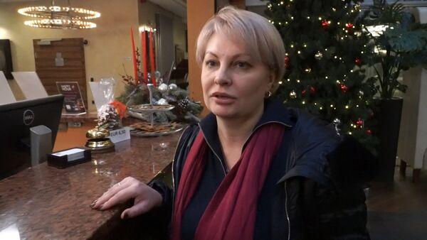 Корреспондент ВГТРК Ольга Курлаева - Sputnik Латвия