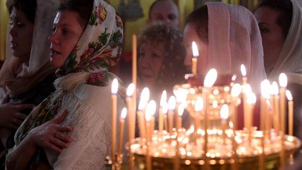 Рождество Христово в городах России - Sputnik Латвия