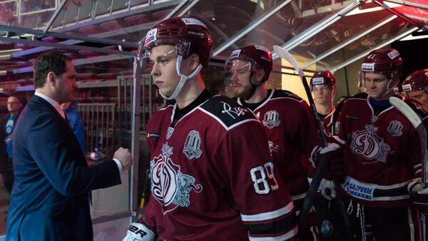 Игроки хоккейного клуба Динамо Рига - Sputnik Латвия