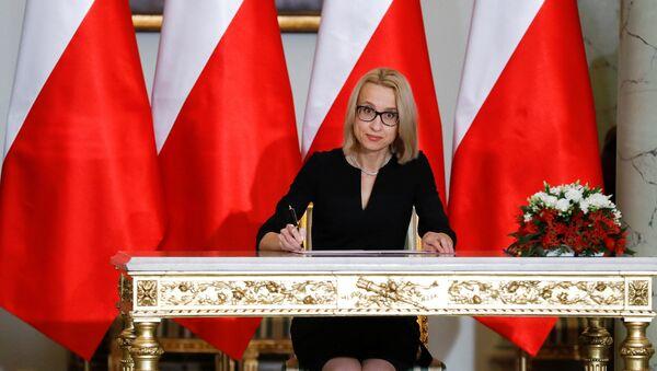 Новый министр финансов Польши Тереза Червинская - Sputnik Латвия