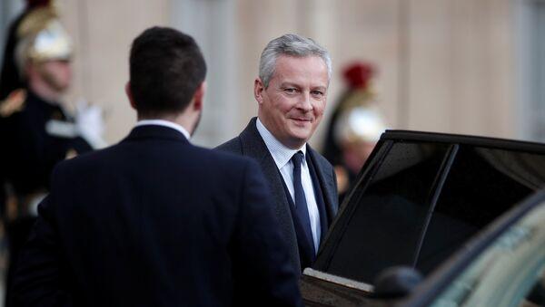 Министр финансов Франции Бруно Ле Мэр - Sputnik Latvija