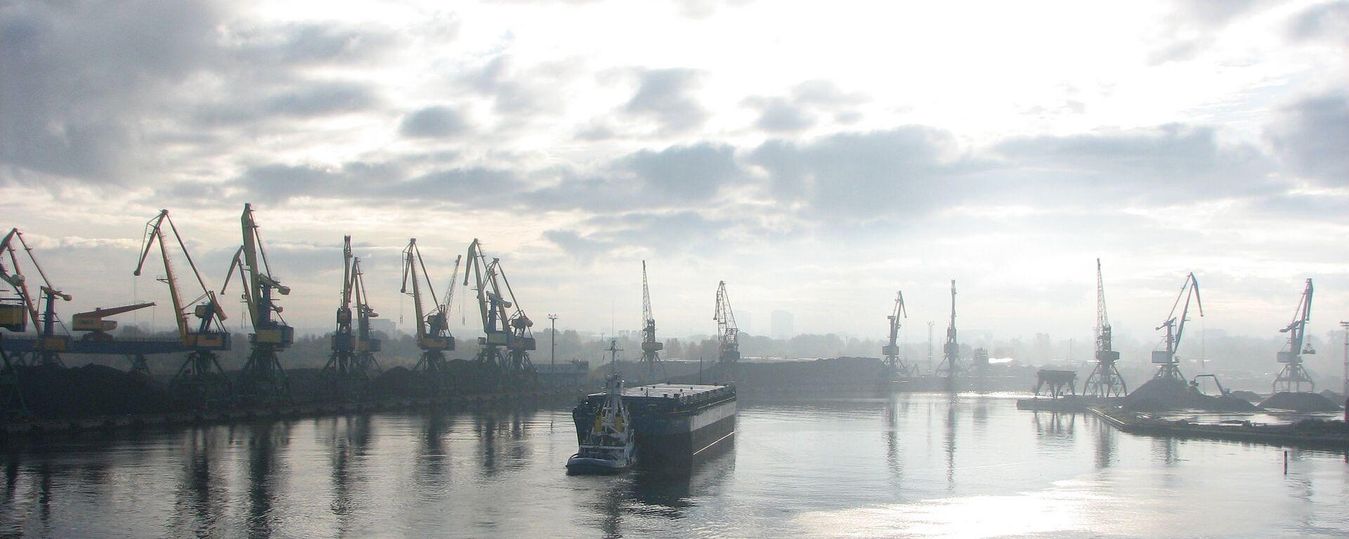 Рижский порт - Sputnik Latvija, 1920, 05.05.2021