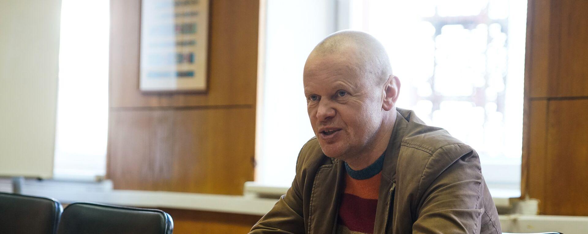 Председатель правления рыбоперерабатывающего предприятия Brīvais vilnis Арнольд Бабрис - Sputnik Латвия, 1920, 11.01.2021