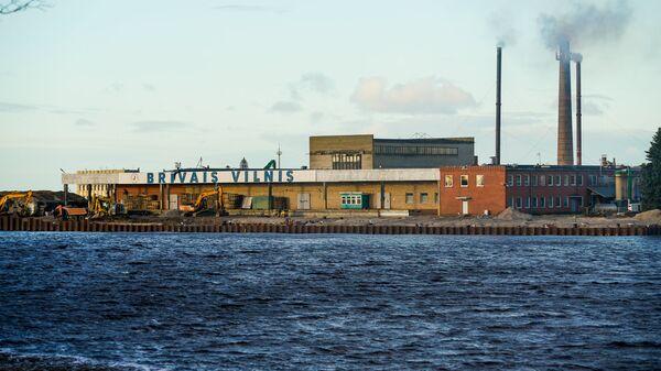 Латвийское рыбоперерабатывающее предприятие Brīvais vilnis - Sputnik Латвия