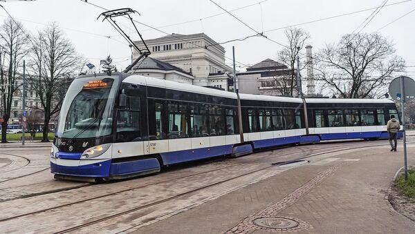 Трамвай в Риге - Sputnik Latvija