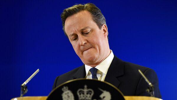 Премьер-министр Соединённого Королевства Дэвид Кэмерон - Sputnik Латвия