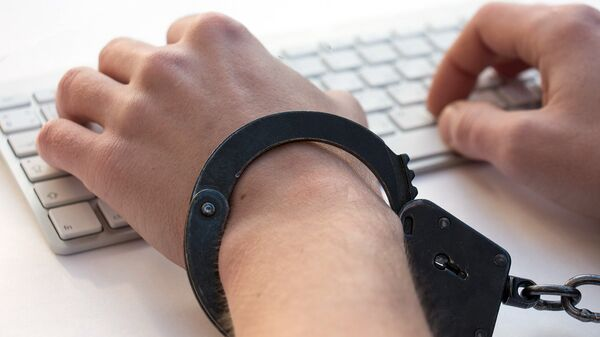 Руки в наручниках - Sputnik Latvija