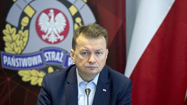 Министр обороны Польши Мариуш Блащак - Sputnik Латвия