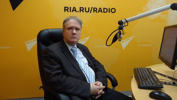 Генеральный директор Института региональных проблем, кандидат политических наук  Дмитрий Журавлев - Sputnik Латвия