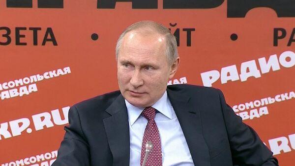 Путин об исполнителях провокации с беспилотниками в Сирии - Sputnik Латвия