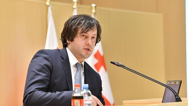Председатель парламента Грузии Ираклий Кобахидзе - Sputnik Латвия
