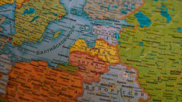 Прибалтика на карте Европы - Sputnik Латвия