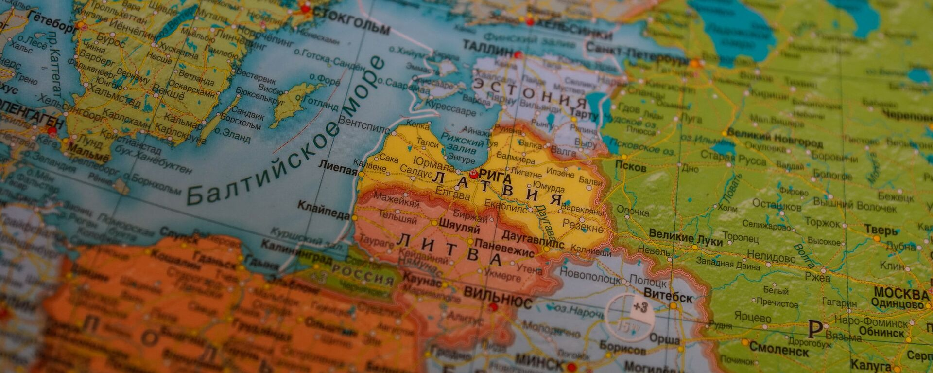 Прибалтика на карте Европы - Sputnik Латвия, 1920, 02.02.2018