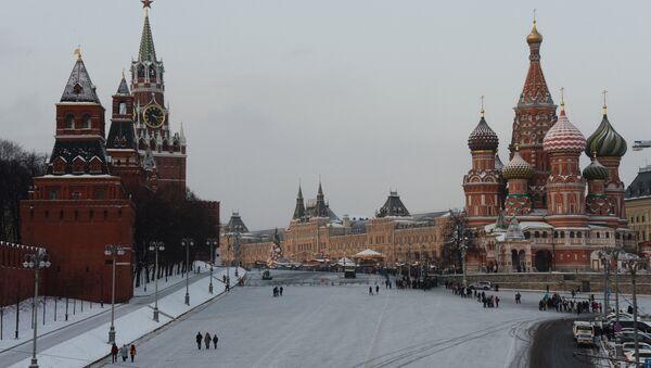 Площадь Васильевский спуск и Красная площадь в Москве - Sputnik Латвия