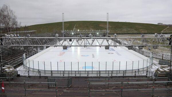 Стадион под открытым небом на Кепке Ушакова - Sputnik Латвия