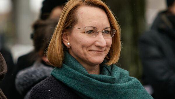 Министр культуры Латвии Даце Мелбарде - Sputnik Латвия