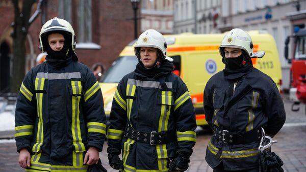 Латвийские пожарные - Sputnik Латвия