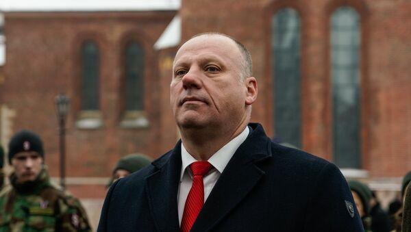 Министр обороны Латвии Раймондс Бергманис - Sputnik Латвия