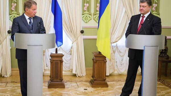 П.Порошенко встретился с Саули Ниинисте - Sputnik Latvija
