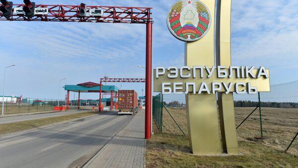 Погранпереход Григоровщина на белорусско-латвийской границе. - Sputnik Латвия