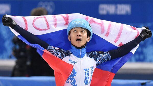 Олимпиада 2014. Шорт-трек. Мужчины. 500 метров - Sputnik Latvija