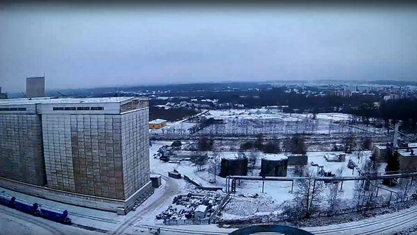 Руферы залезли на водонапорную башню в Добеле - Sputnik Латвия