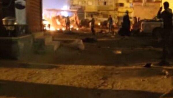 Двойной теракт произошел у крупнейшей мечети в Бенгази в Ливии - Sputnik Латвия