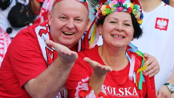 Польские болельщики - Sputnik Латвия