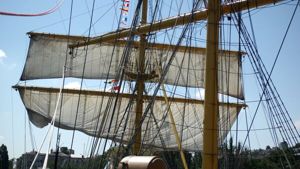 На парусном судне - Sputnik Латвия