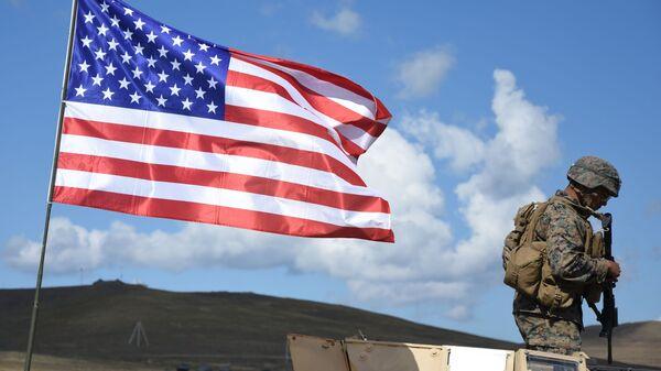 Американский военнослужащий - Sputnik Latvija