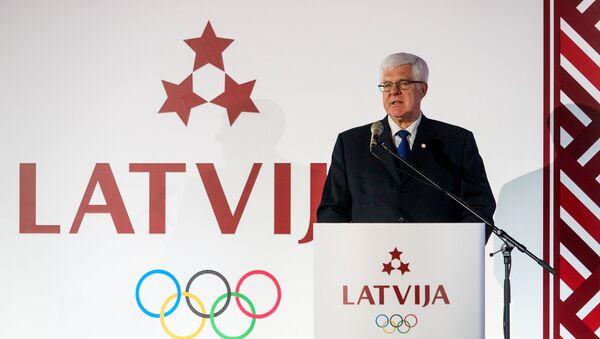 Глава Латвийского олимпийского комитета Алдон Врублевскис - Sputnik Латвия