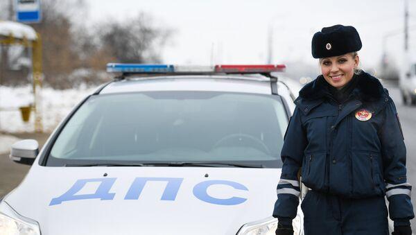 Инспектор Дорожно-патрульной службы - Sputnik Латвия