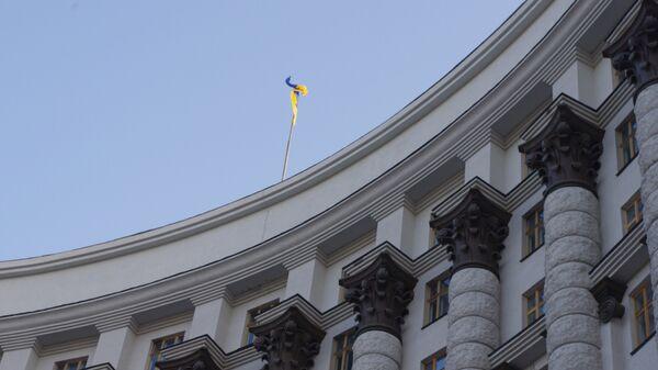 Дома правительства Украины в Киеве - Sputnik Латвия