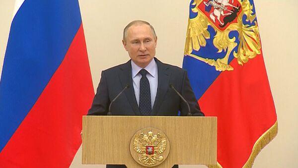 Путин извинился перед российскими олимпийцами - Sputnik Latvija