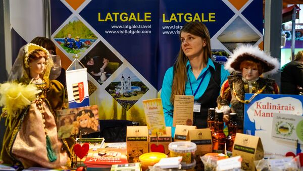 Международная выставка-ярмарка туризма Balltour-2018 - Sputnik Латвия