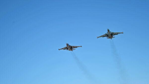 Krievijas kara aviācija Hmeimimas aviobāzē Sīrijā - Sputnik Latvija