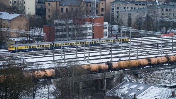 Подъездные пути Рижского железнодорожного вокзала - Sputnik Латвия