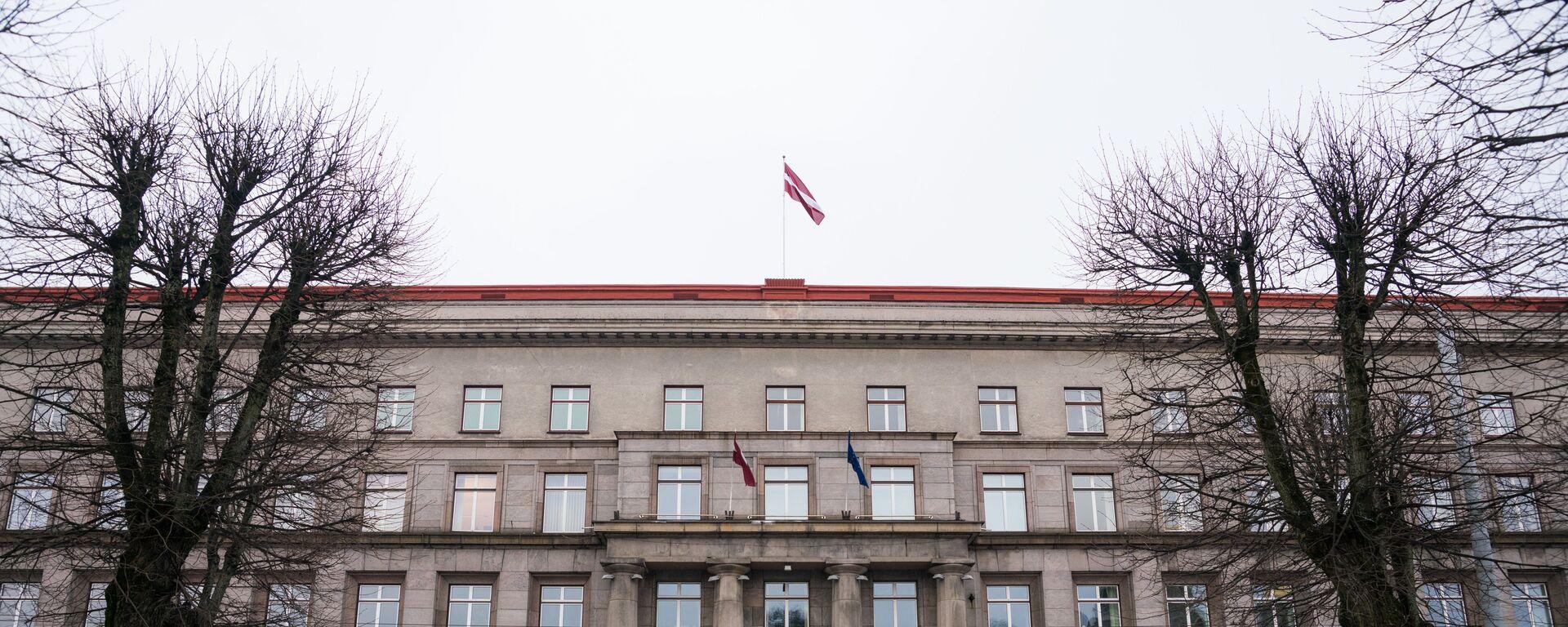 Здание Кабинета министров Латвии в Риге - Sputnik Латвия, 1920, 03.02.2021