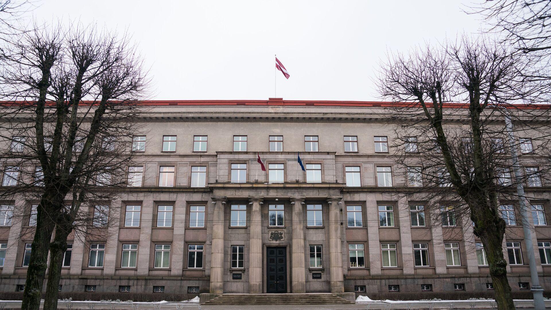 Здание Кабинета министров Латвии в Риге - Sputnik Латвия, 1920, 13.10.2021
