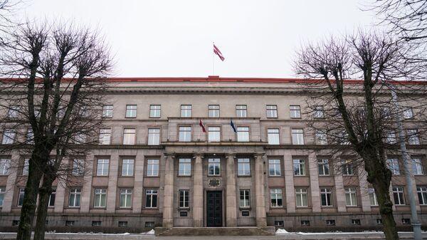 Здание Кабинета министров Латвии в Риге - Sputnik Latvija
