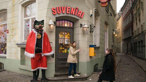 Магазин сувениров в Старой Риге - Sputnik Latvija