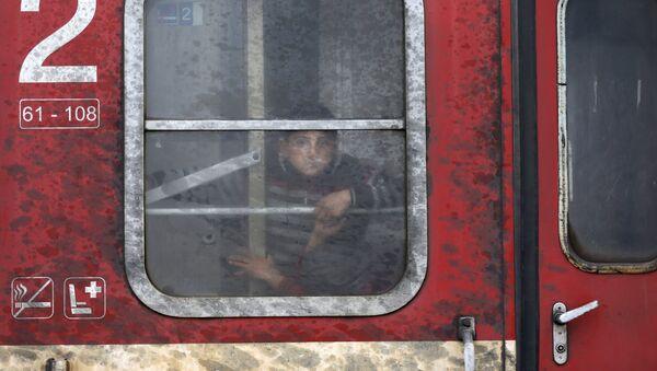 Ситуация с беженцами в Европе - Sputnik Латвия