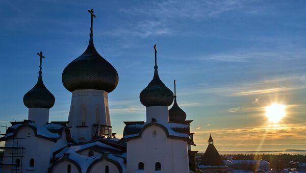 Соловецкий Кремль. Спасо-Преображенский Соловецкий монастырь - Sputnik Латвия