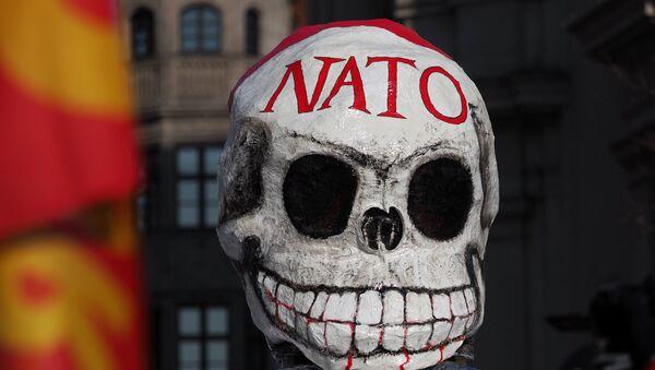 Акции протеста против НАТО в Мюнхене - Sputnik Латвия