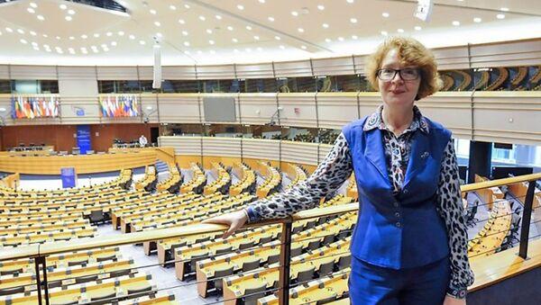 Яна Тоом в Европарламенте - Sputnik Latvija