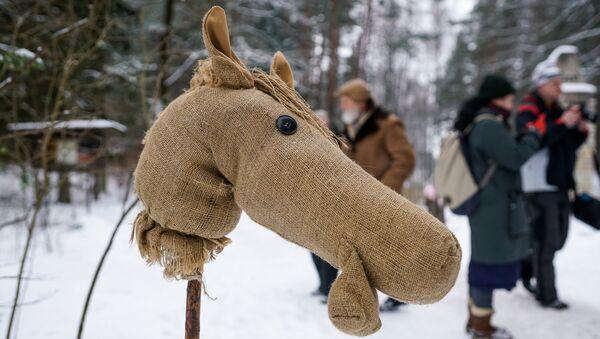 Метени - латышский народный праздник проводов зимы в Латвийском этнографическом музее - Sputnik Латвия
