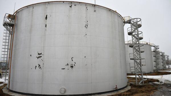 Резервуары для хранения нефтепродуктов - Sputnik Latvija