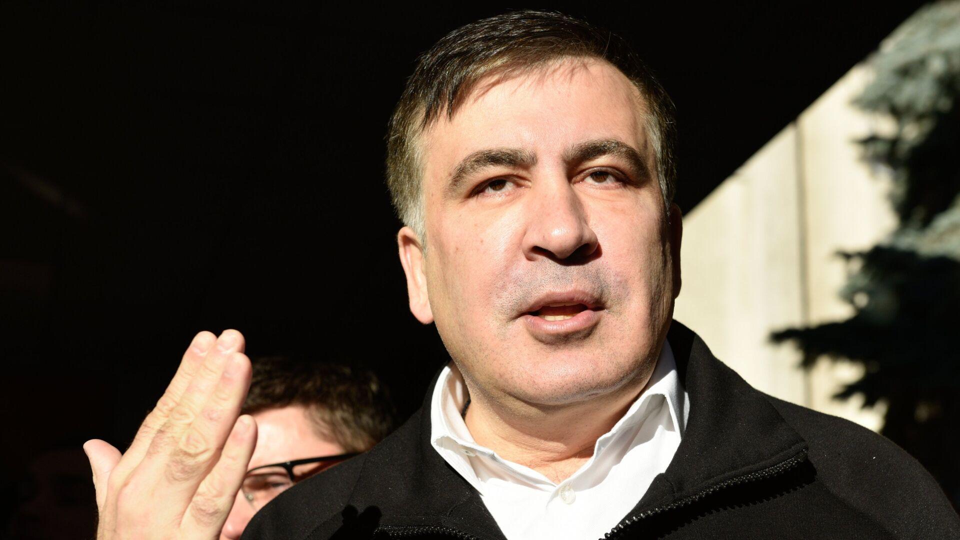 М. Саакашвили намерен требовать в ЕСПЧ компенсацию за действия СБУ - Sputnik Латвия, 1920, 08.09.2021